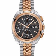 Bulova Accutron Men's 65B168 Accu Swiss Chronograph Automatic Dress Watch