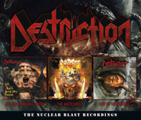Destruction : The Nuclear Blast Recordings CD Album Digipak 4 discs (2018)
