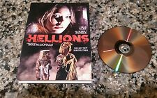 HELLIONS RARE DVD! ERIE HALLOWEEN HORROR! IFC MIDNIGHT 2015 CHLOE ROSE