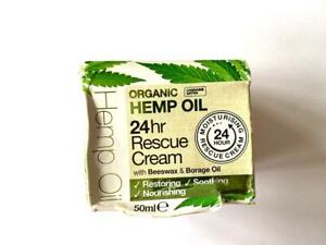 Dr. Organic Bioactive Skincare Organic Hemp Oil 24hr Rescue Cream - 50ml