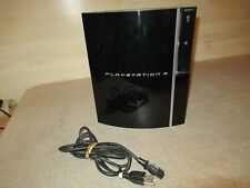 SONY PLAYSTATION 3 PS3 CONSOLE, CECHPO1, ADAPTER, POWERS UP, PLEASE EXAMINE