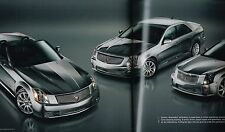HUGE 2006 CADILLAC V-Series Brochure / Catalog with Color Charts: XLR,STS,CTS