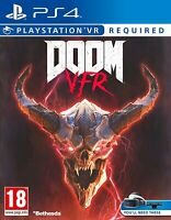 Doom VFR VR - PS4 - Brand New Factory Sealed Free Shipping Bethesda FPS Game
