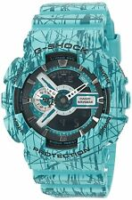 Casio Watch G-Shock GA110SL-3A Slash Pattern X-Large Case Turquoise / One Size