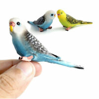 Lovely Animal Model Simulation Forest Parrot Figures Fairy Craft Toy Nice Hot FA