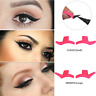 Paar Eyeliner Lidschatten Stempel Schablone Make-up Katzenauge Easy Makeup Wing