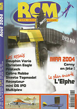 RCM N°280 PLAN : L ' ELPHE / DAUPHIN VARIO / CHRISTEN EAGLE / PROTECH / DS IPD