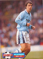 KIT SYMONS MANCHESTER CITY 1995-1998 ORIGINAL HAND SIGNED PICTURE CUTTING