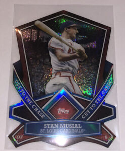 2013 Topps Stan Musial Cut to the Chase Die Cut #CTC-7