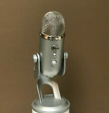 Blue Yeti Microphone - Silver, Perfect Condition
