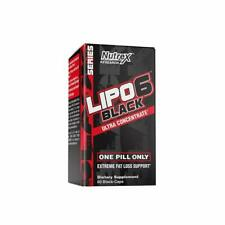 Nutrex Lipo-6 Black Ultra Concentrate**60 Caps*Weight Loss~Fat Burner*Metabolism