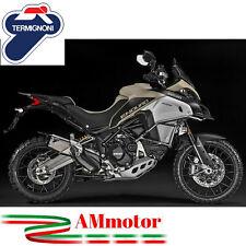 Scarico Termignoni Ducati Multistrada 1200 Enduro 2016 > Titanio Moto Omologato