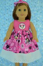 """Doll Clothes For 18""""American Girl~Our Generation~Journey CONTRAST DRESS~HEADBAND"""