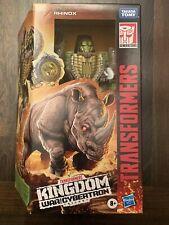 Transformers War For Cybertron: Kingdom Voyager KFC-K27, Rhinox  IN HAND!! MIB