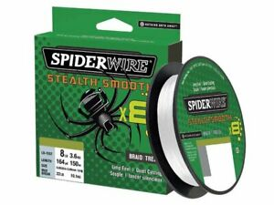 NEW !!! SPIDERWIRE STEALTH SMOOTH 8 TRANSLUCENT 150 m & 300 m Spools