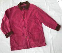 Eddie Bauer Outfitter Premium Shirt Jacket Women's Barn Coat Size Medium