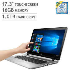 "17.3"" TOUCH SCREEN LAPTOP HP ENVY 17T I7-7500U 3.5GHZ 16GB 1TB WINDOWS 10 OFFICE"