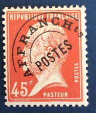Preos N° 67 45 C Rouge Neuf ** TB Qualité Cote 45€
