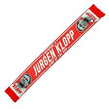 Jurgen Klopp King Of The Kop Liverpool HD Scarf Gift Souvenir