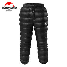 NH Unisex Goose Down Snow Pants Outdoor Waterproof Warm Camping Black Trousers