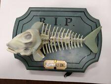 1999 Big Mouth Billy Bones Bad to the Bone Singing Fish Skeleton Tested *Read*