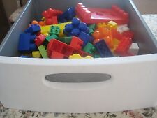 K'Nex Huge Lot 355+ Mega Bloks Duplo Plastic Building Blocks Toddler Preschooler