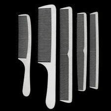 1pc 5 Types New Salon Stainless Steel Hair Cutting Combs Pro Hairdressing Silver