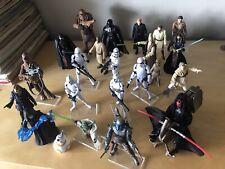 Star Wars-Paquete de 23 Figuras De Acción-MBC-Clone Troopers-Chewie-solo-Yoda