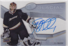 2008 08-09 Upper Deck Ice Glacial Graphs #GGJH Jonas Hiller