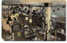 Steubenville-Ohio-Erwin & Robinsons Store-Interior-Antique Postcard