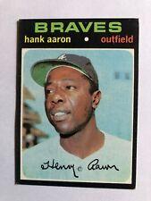 1971 Topps Set Break #400 Hank Aaron Atlanta Braves