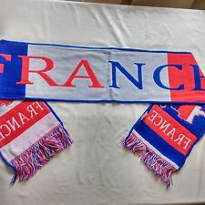 ÉCHARPE DU SUPPORTER DE LA FRANCE - 100 % ACRYLIQUE - DIMENSION 18 X 128 CM 8ef73e30e8d7