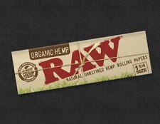 5x Zigarettenpapier RAW  Zigaretten Papier Organic Hemp SIZE 1 1/4