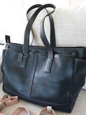 Coach Leather Diaper Bag Large Boy Girl Classy Elegant Purse Baby
