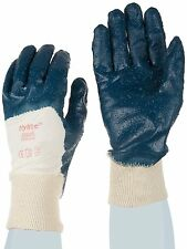 *PACK OF 12* Ansell Hylite 47-800 Nitrile Gloves Coated Rough Finish SIZE 10