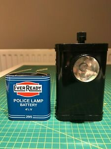 Police Lamp - Replia Ever Ready (Eveready) No 295 Battery Adapter Converter