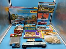 Toy Big Bundle Ho Train Electric Model New Occasion Decors Buildings