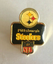 VINTAGE NFL PITTSBURGH STEELERS PIN PETER DAVID INC 1986 LAPEL HAT METAL PIN