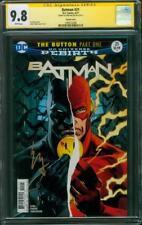 Batman 21 CGC SS 9.8 Ezra Miller FLASH Signed Variant Cover Flashpoint Movie