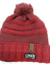 Men's Adidas Recon Ballie Winter Hat OSFM Burgundy & Red