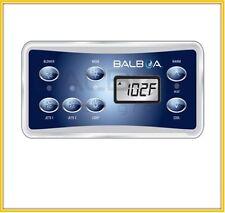Balboa VL701S topside keypad Overlay, 7 button display panel fit GS510sz