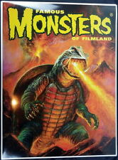 Famous Monsters Filmland POSTER - GAMERA Bob Eggleton Cover art Godzilla
