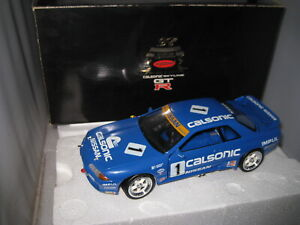 1/18 KYOSHO NISSAN SKYLINE GT/R R32 CALSONIC #1 OLD SHOP STOCK #7002.12000 RARE