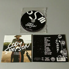 Cody Simpson - Free 2015 USA CD Indie VG #1444*