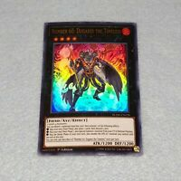 1x Yugioh Number 60: Dugares the Timeless BLHR 1st Ed Ultra Rare Card