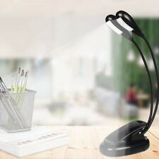 Adjustable USB Rechargeable LED Reading Light Clip on Clamp Bed Lizzj gQAZM