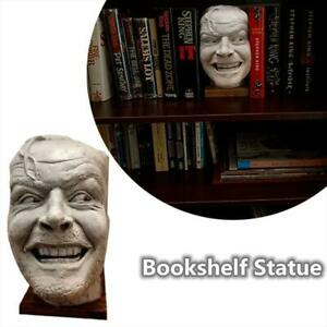 Sculpture Of The Bookend Library Here's Johnny Sculpture Resin Desktop Ornament