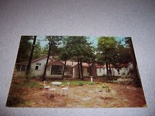 1950s BURRIDGE CENTURY HOUSE ANTIQUE SHOP STURGEON LAKE ONTARIO VTG POSTCARD