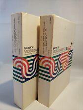 Vintage Sony Videocassette KCA60 (The Ulyssean Way)