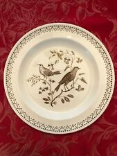 "Wedgwood Williamsburg Aviary 6"" Bread & Butter Plate- Free U.S. Shipping"